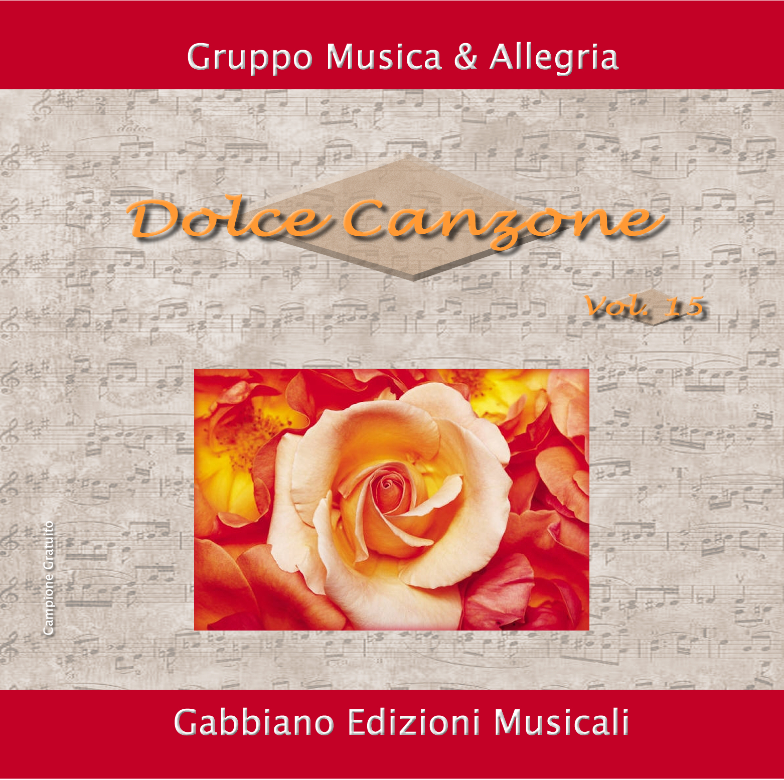 GBN115CD/C - DOLCE CANZONE  - Volume 15