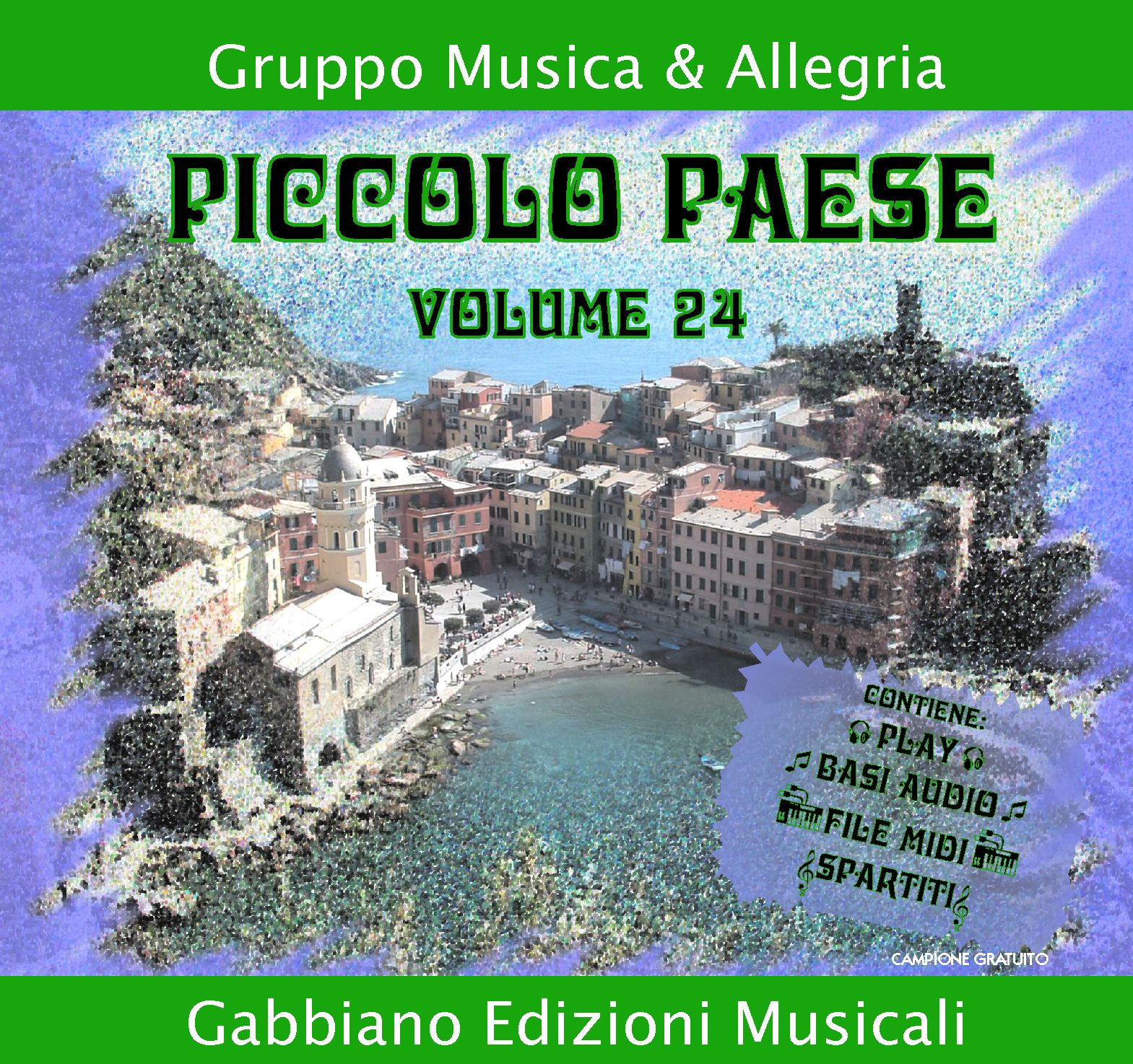GBN124CD/C - Piccolo paese - Volume 24