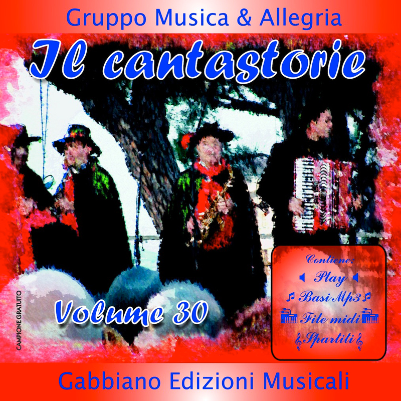 GBN130CD/C - Il cantastorie - Volume 30